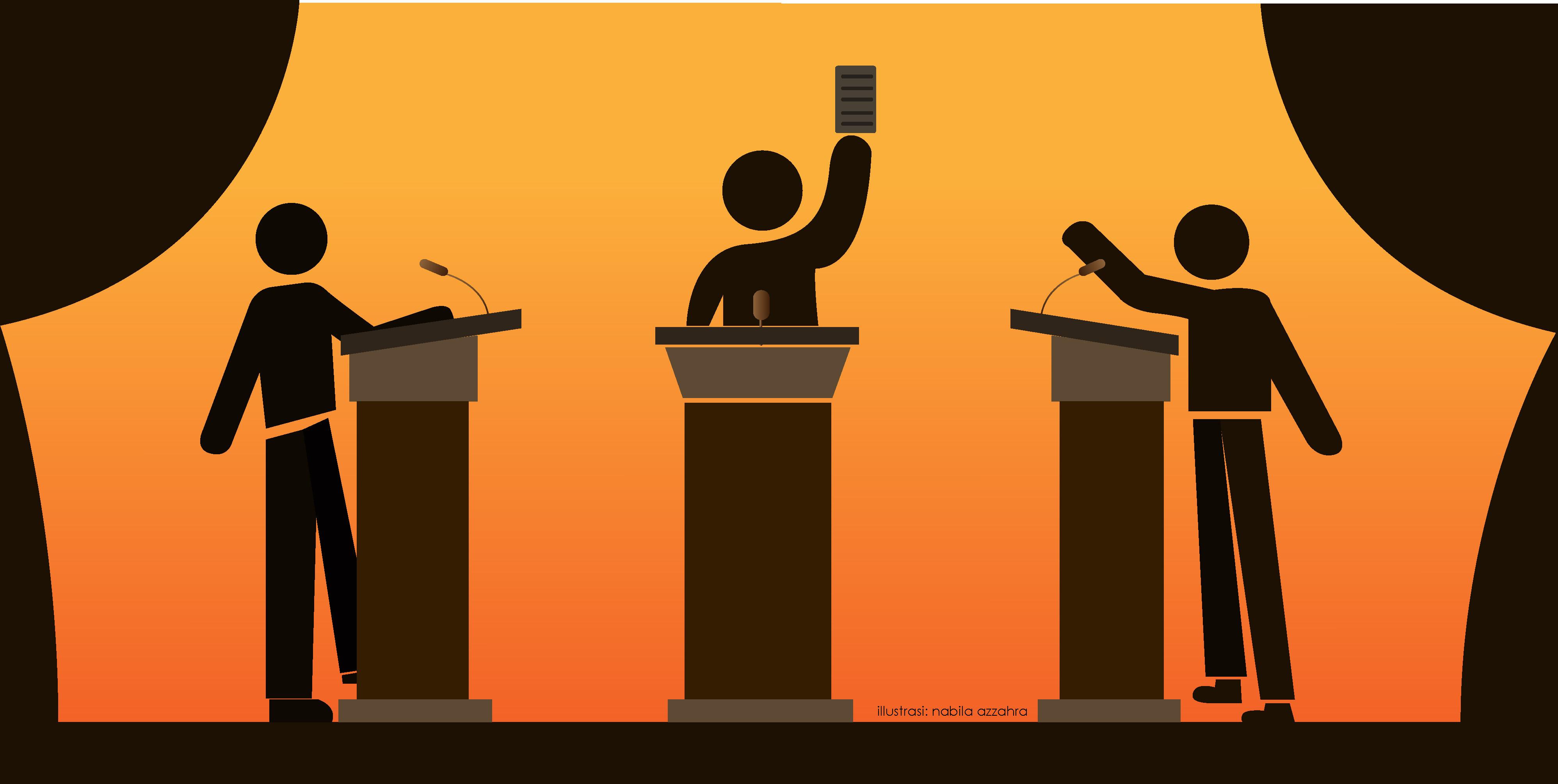 Pidato, Esai, dan Debat